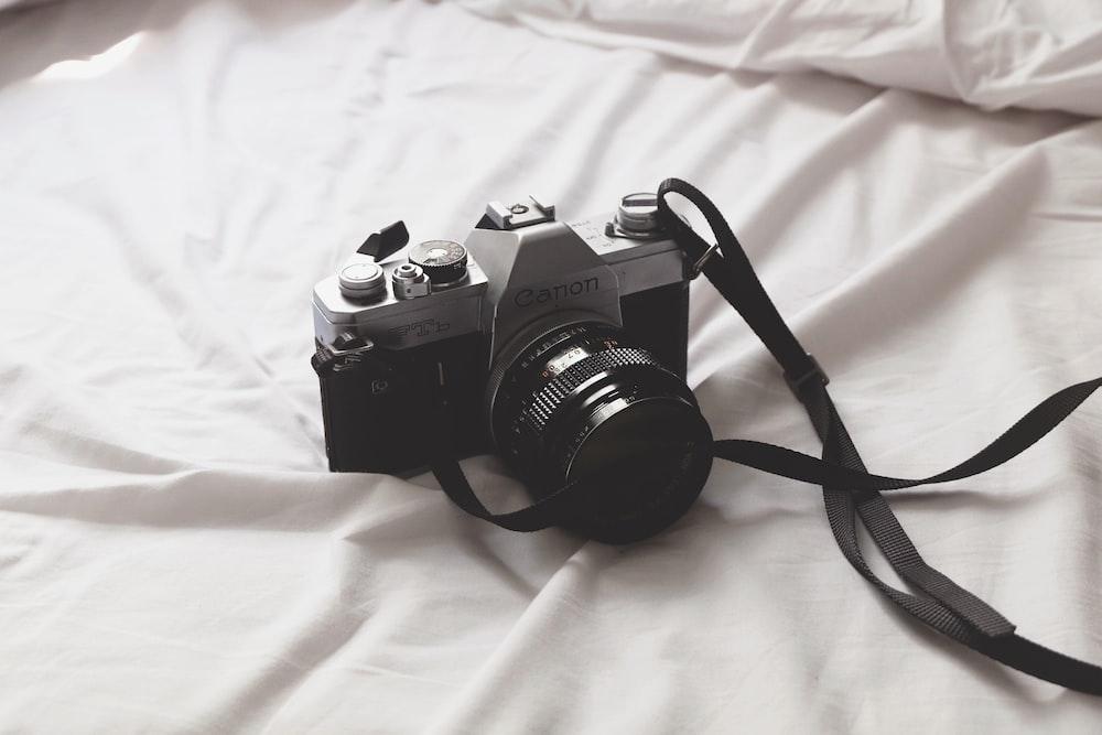 black and gray camera