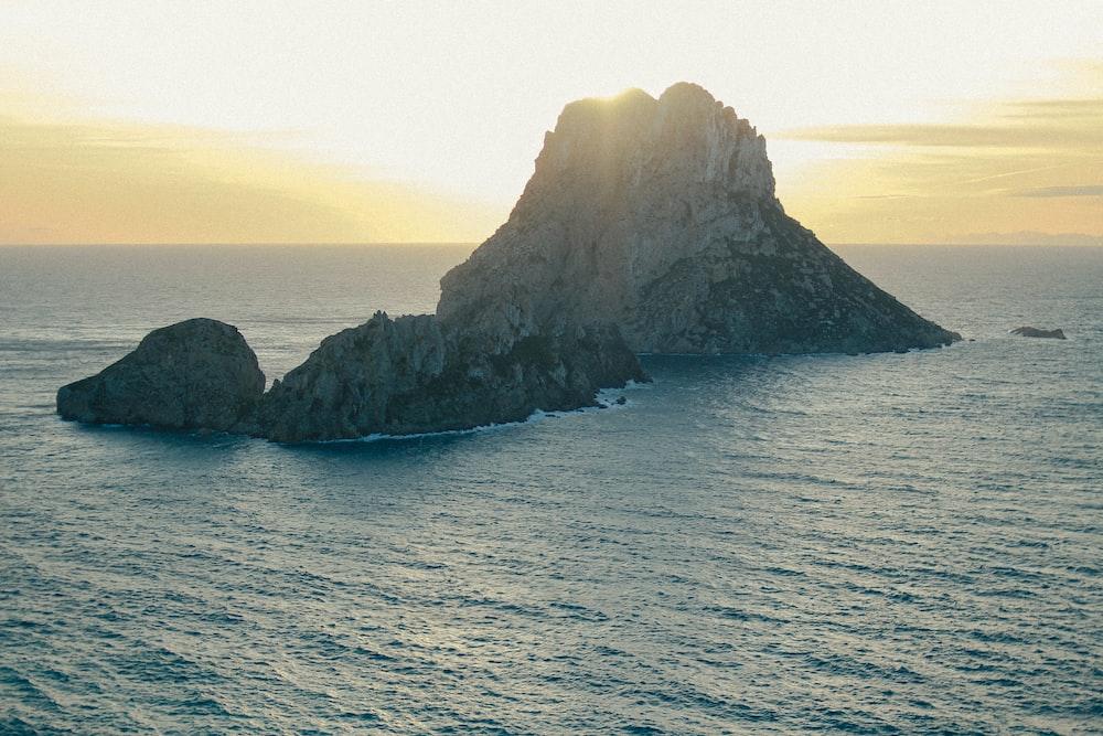 rock formation island