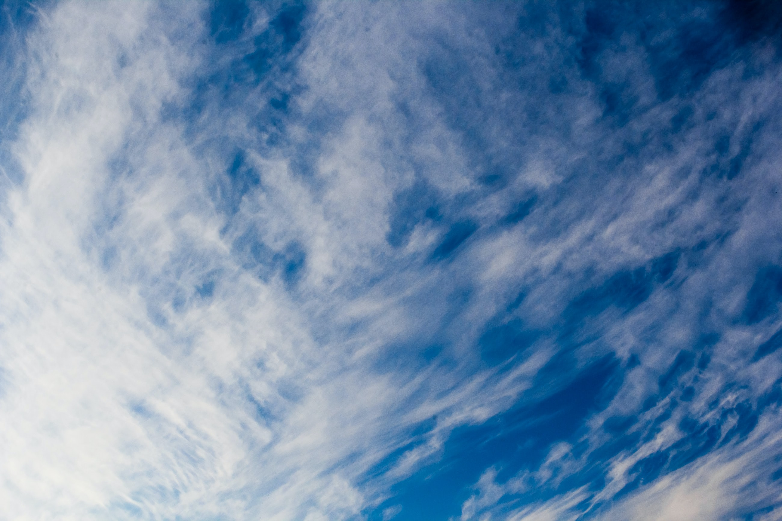 photography of white and blue sky