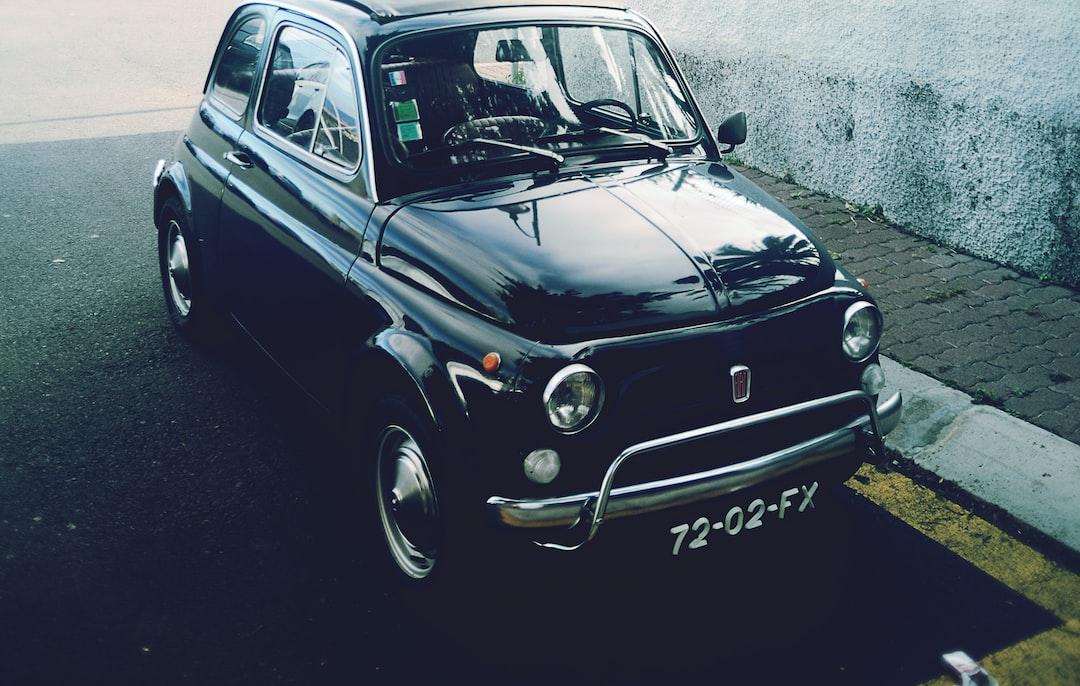 Vintage Fiat.