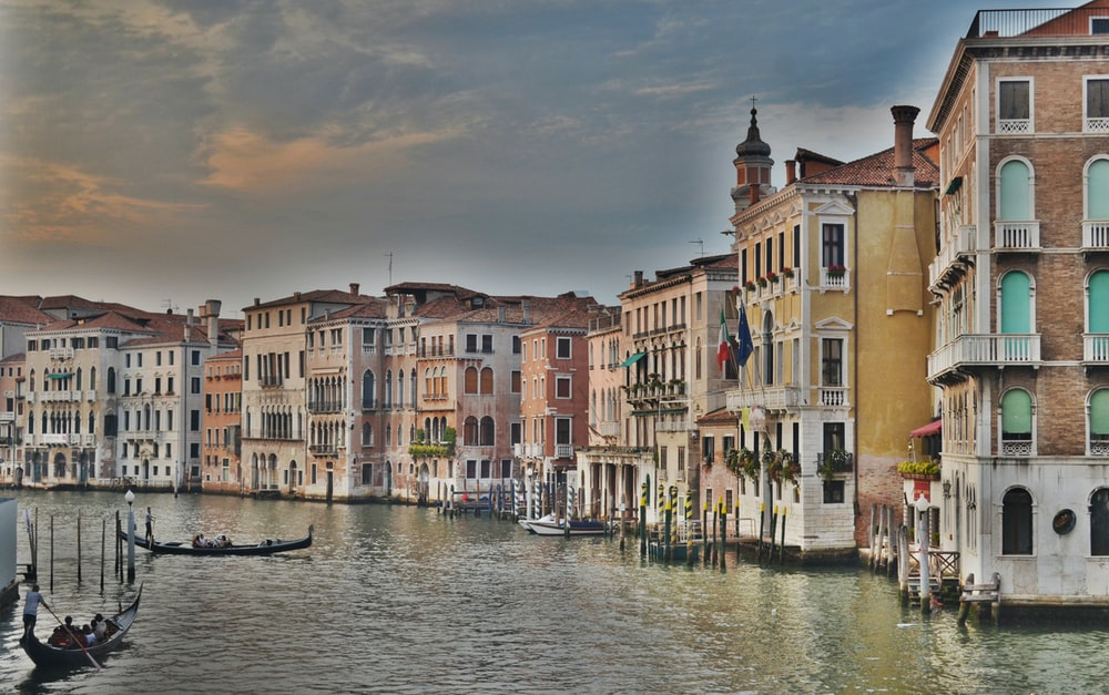 Grand Canal, Venice Italy