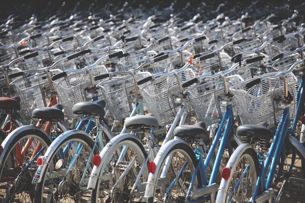 bicycle lot park