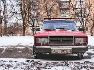 red vehicle ukraine zoom background