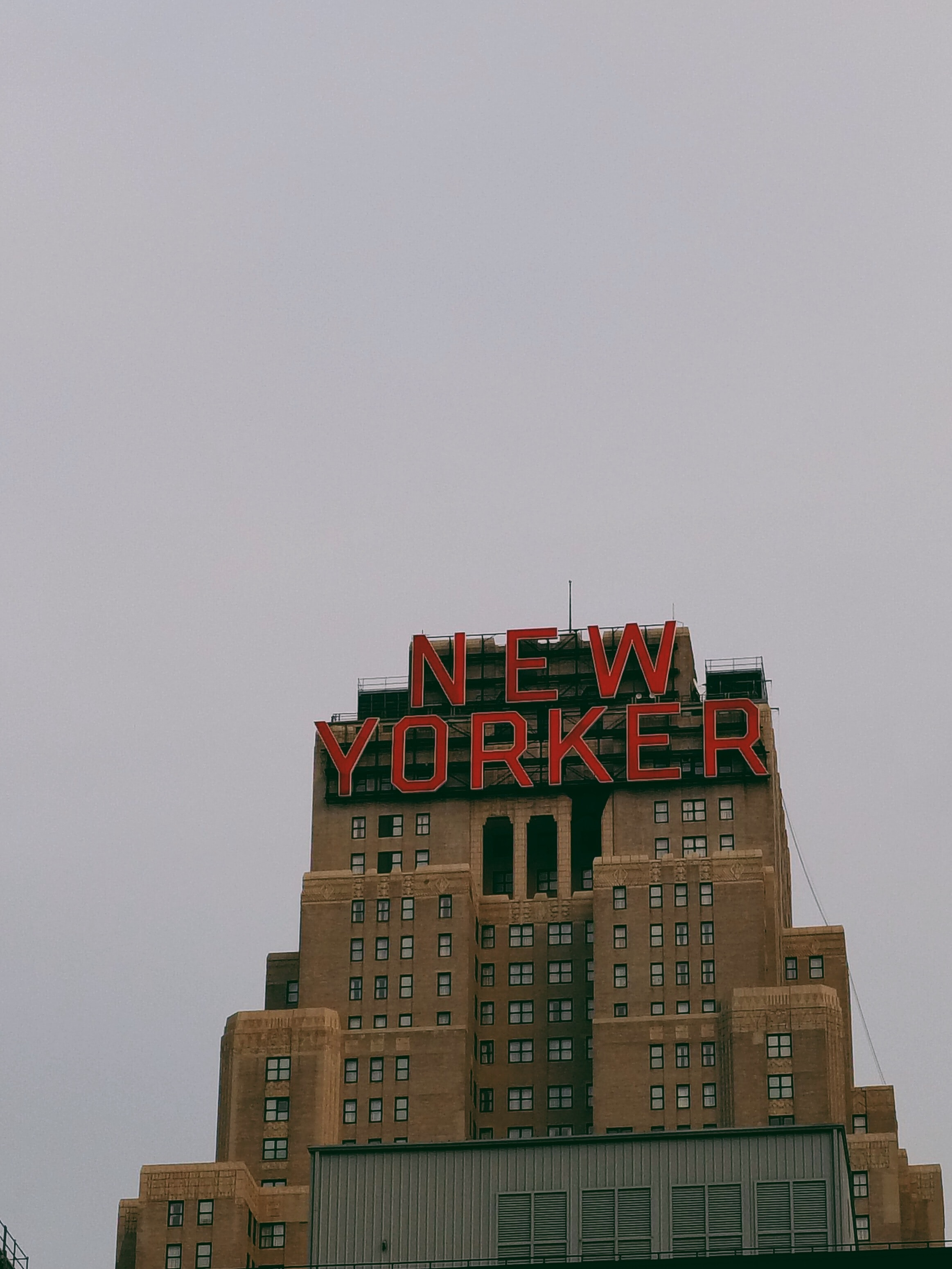 The New Yorker building, a Wyndham hotel.