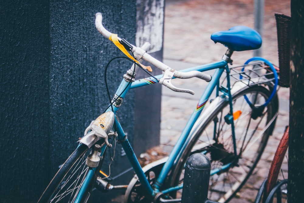 teal city bike