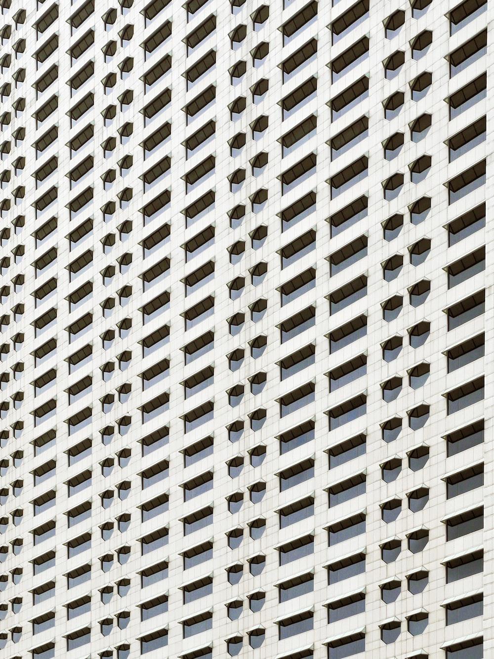white architecture plan wallpaper