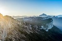 Sunrise over Le Parmelan