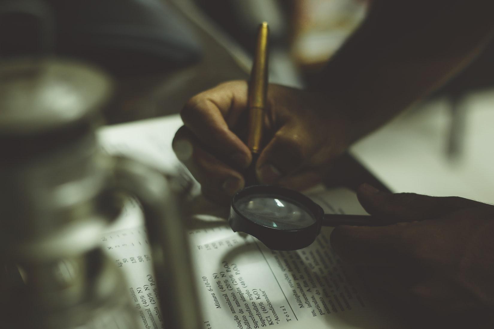Designing an Investigation