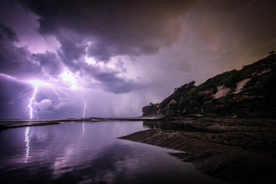 Purple Lightning Dee Why