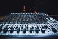 Mixing console in Korsze