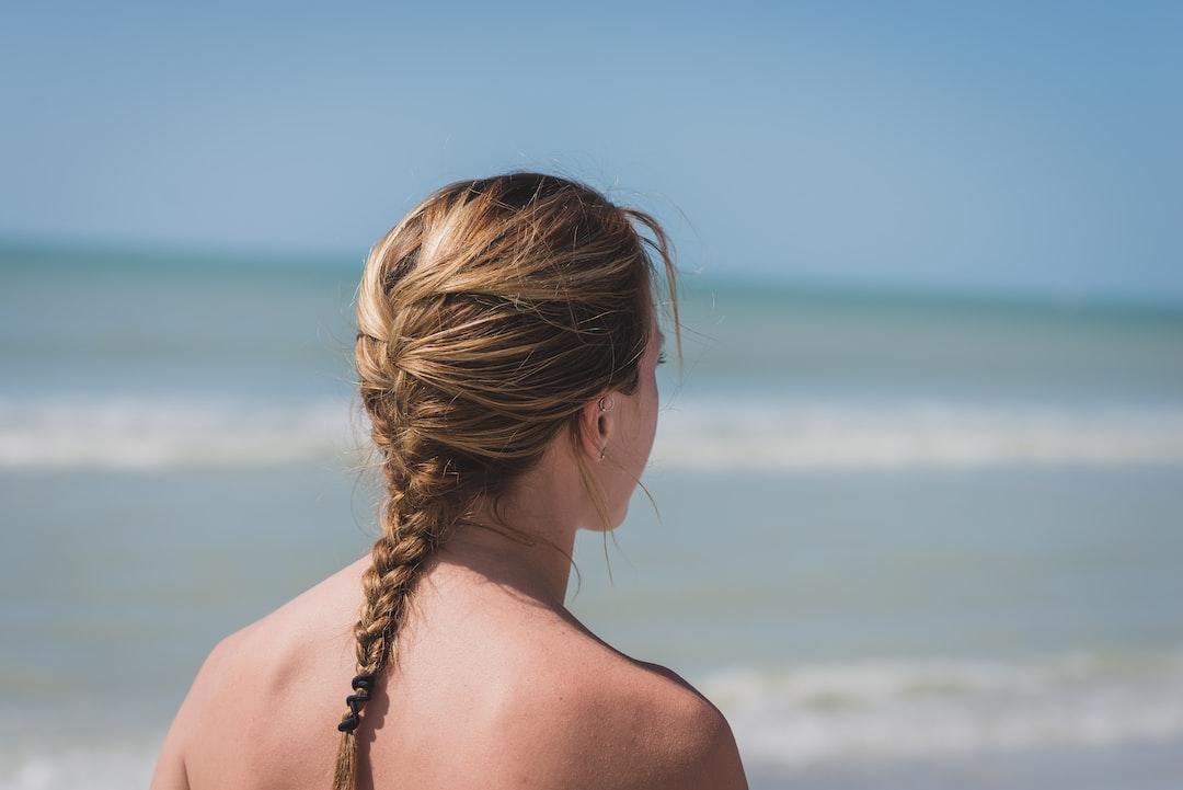 Women Sunset Beach