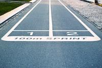 100 meter dash lane