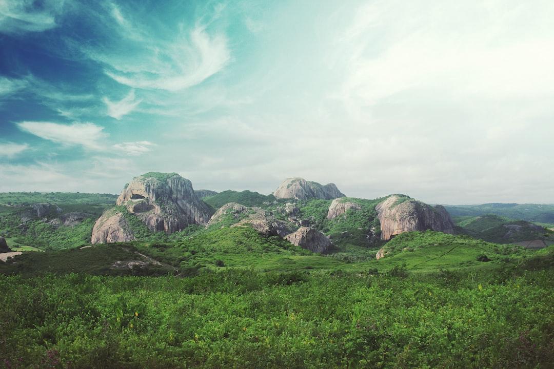 Round rock formation