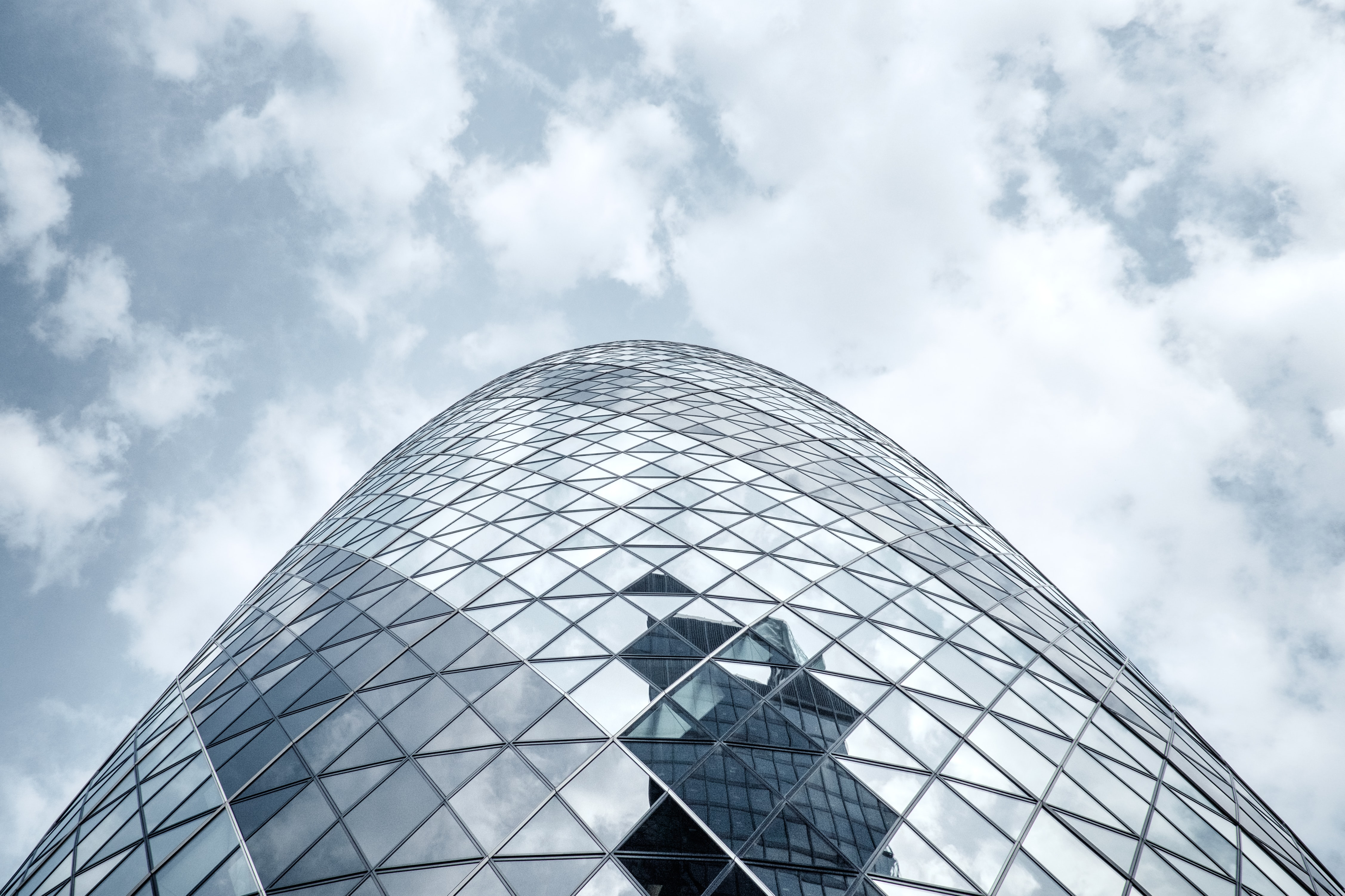 glass dome building