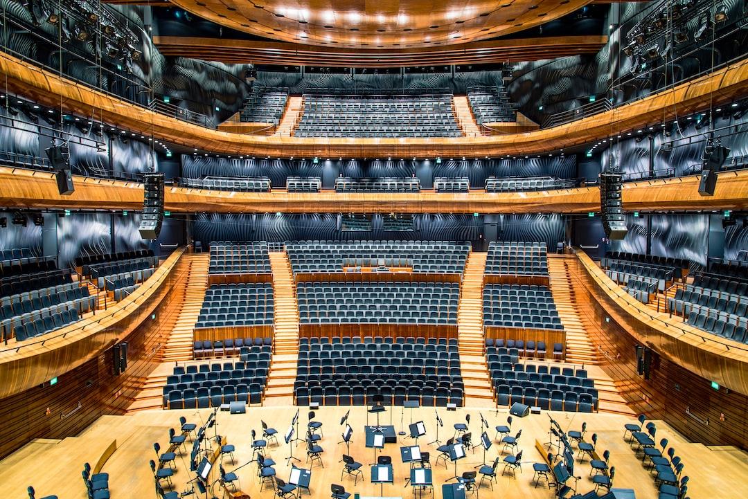 Empty Concert Hall In Katowice Photo By Radek Grzybowski