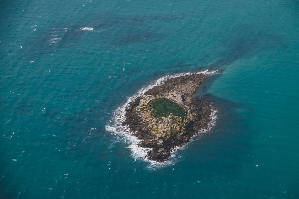 aerial photo of island during daytime