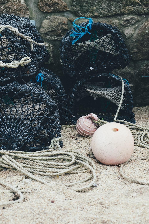 black fish nets