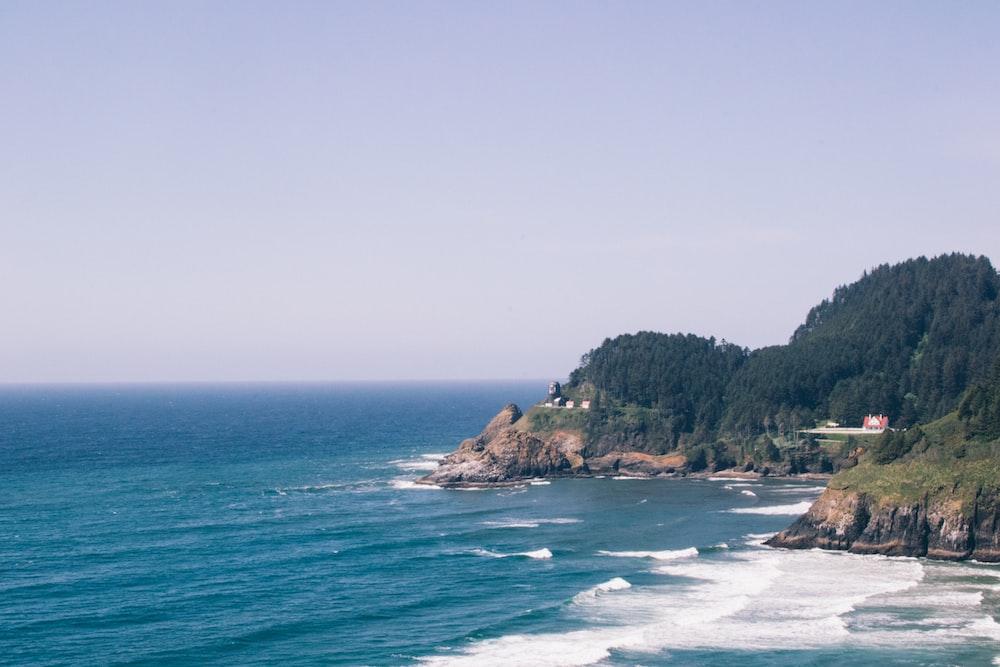 photo of island seashore