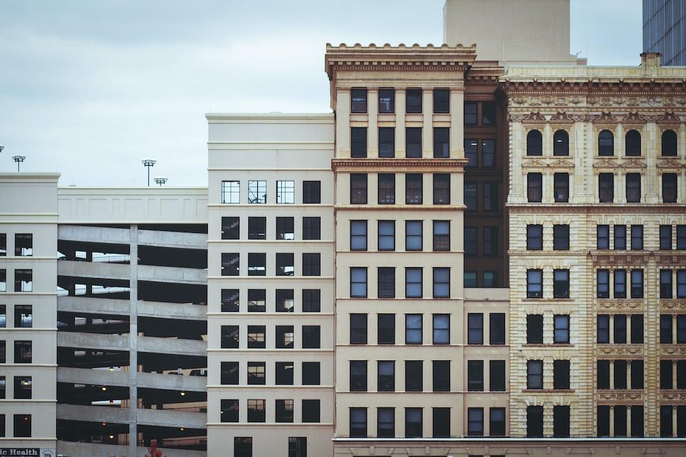 concrete highrise building
