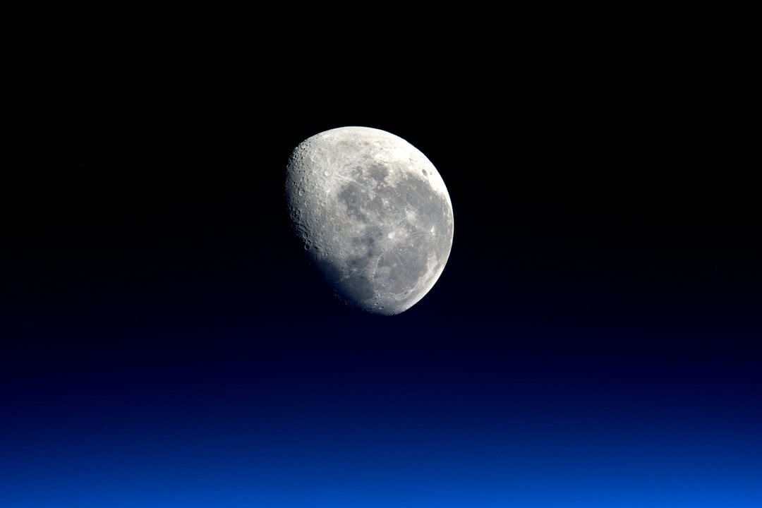 Moon close-up by NASA