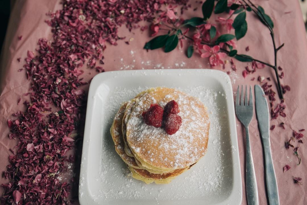 Millennial Pink Pancakes