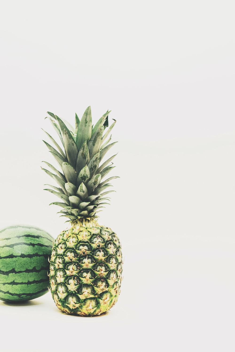 water melon and pineapple