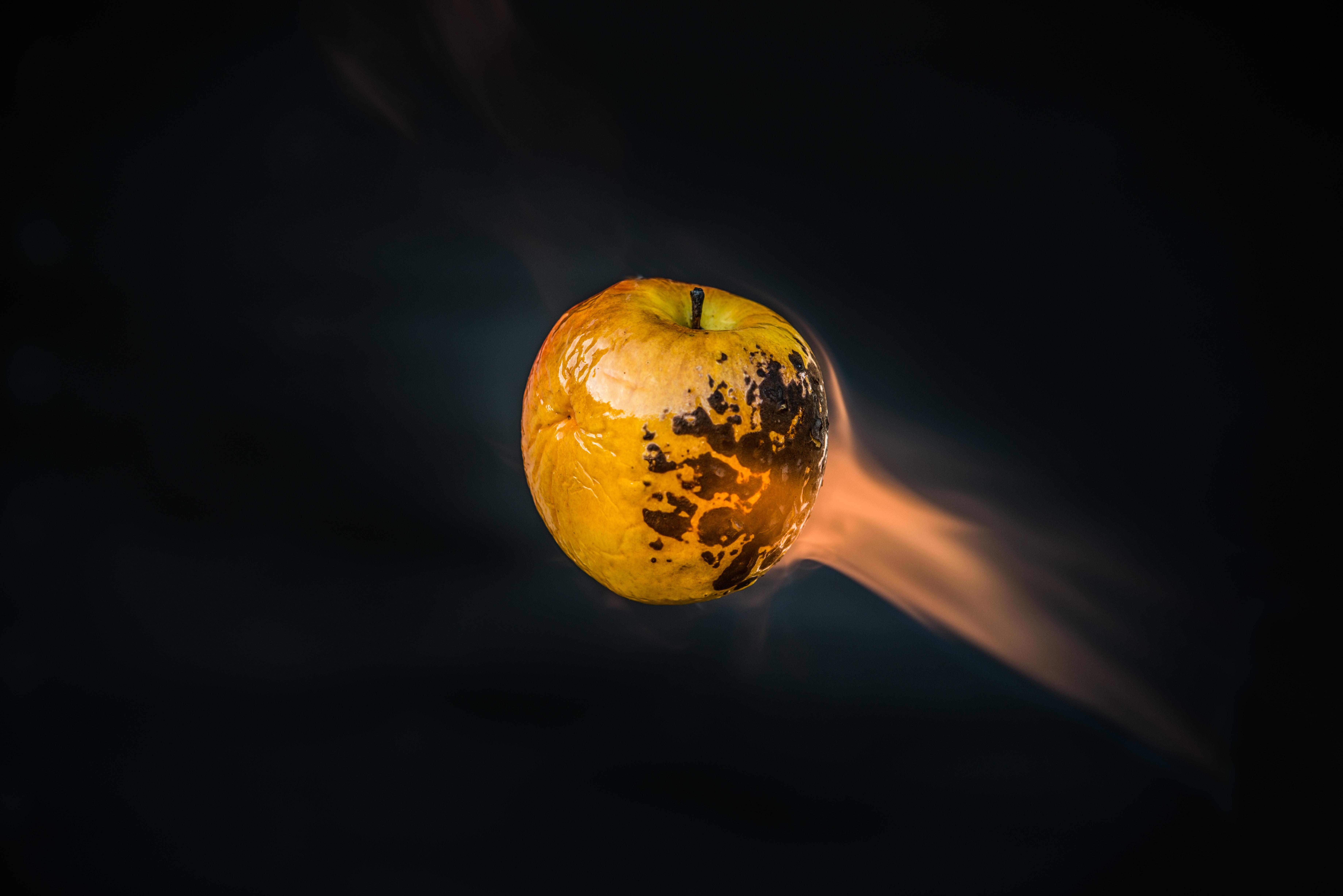flame apple fruit