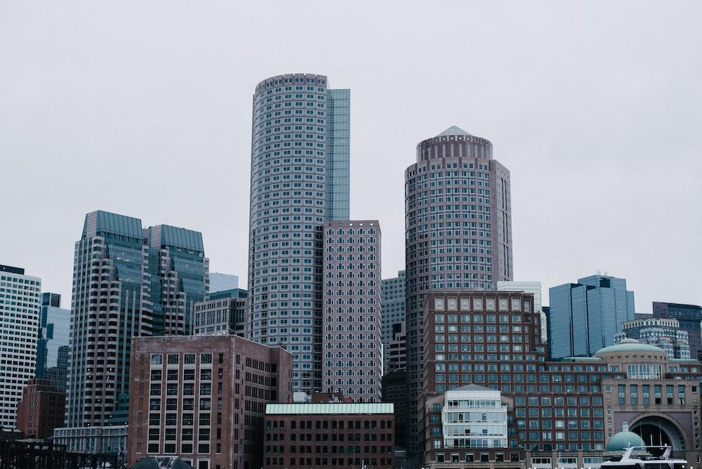 landscape photography of buildings
