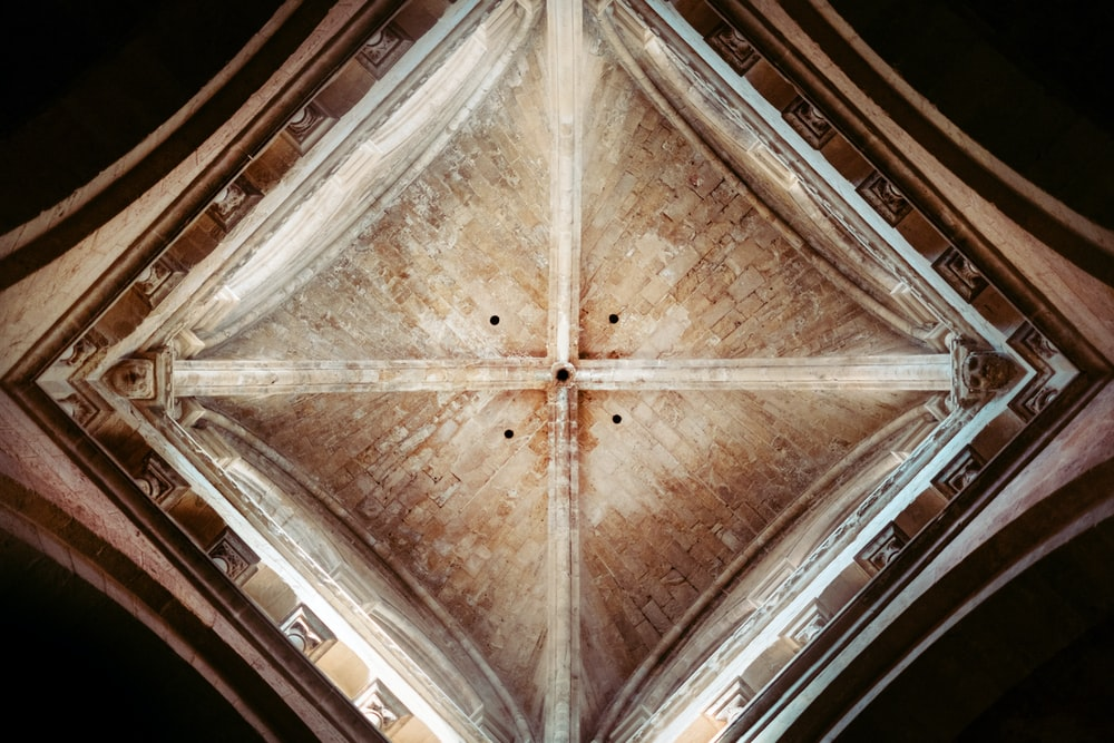 brown wooden ceiling