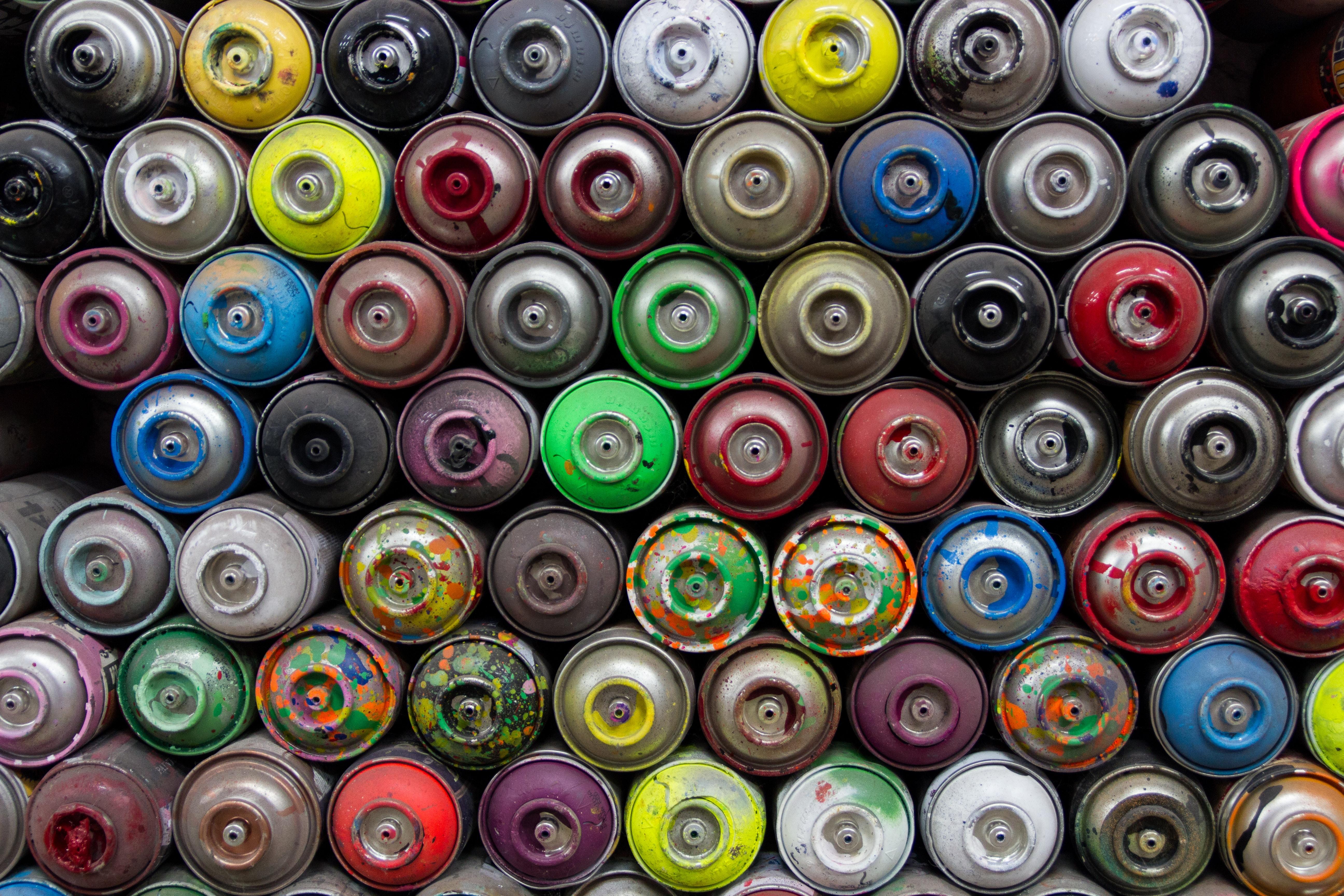 Spray Paint Cans Berlin Photo By Aleksander Naug