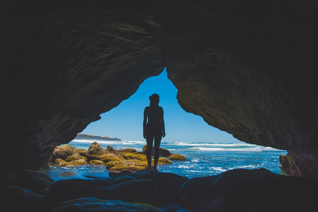 Woman cave Sunset Cliffs