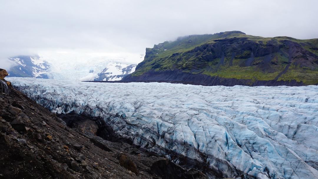 Glacial folds