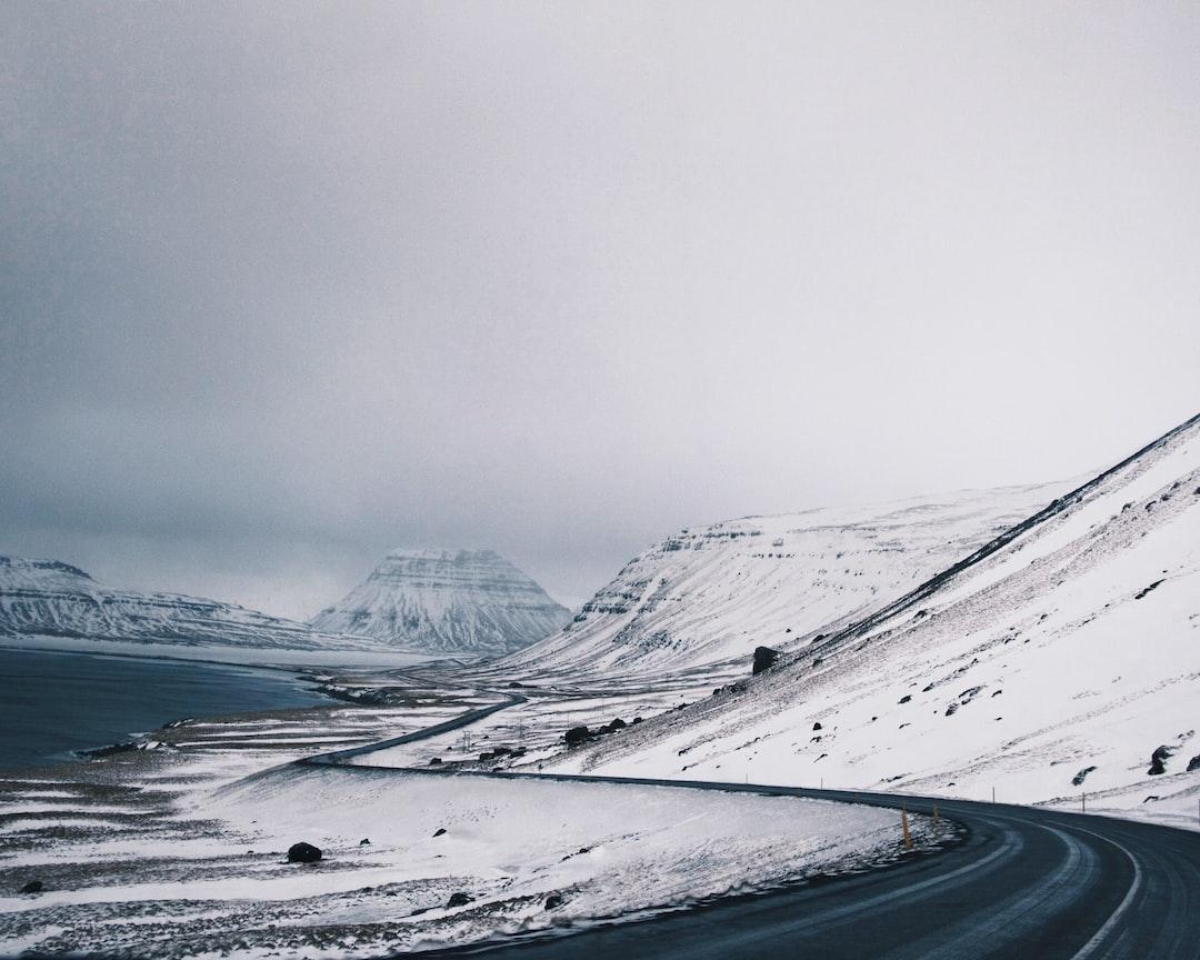 Winter Roads in Iceland