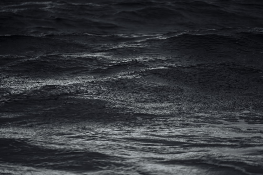 calm seas during nighttime