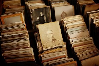 Vintage portrait photography collection