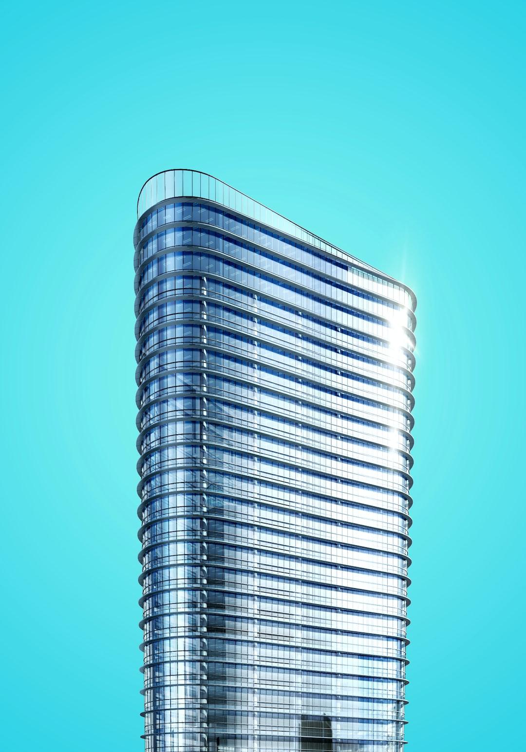 Contemporary skyscraper