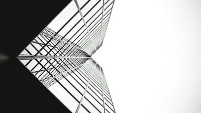 monochrome calgary tower