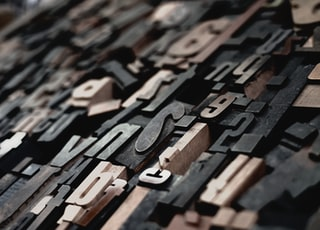 closeup photo of cutout decors