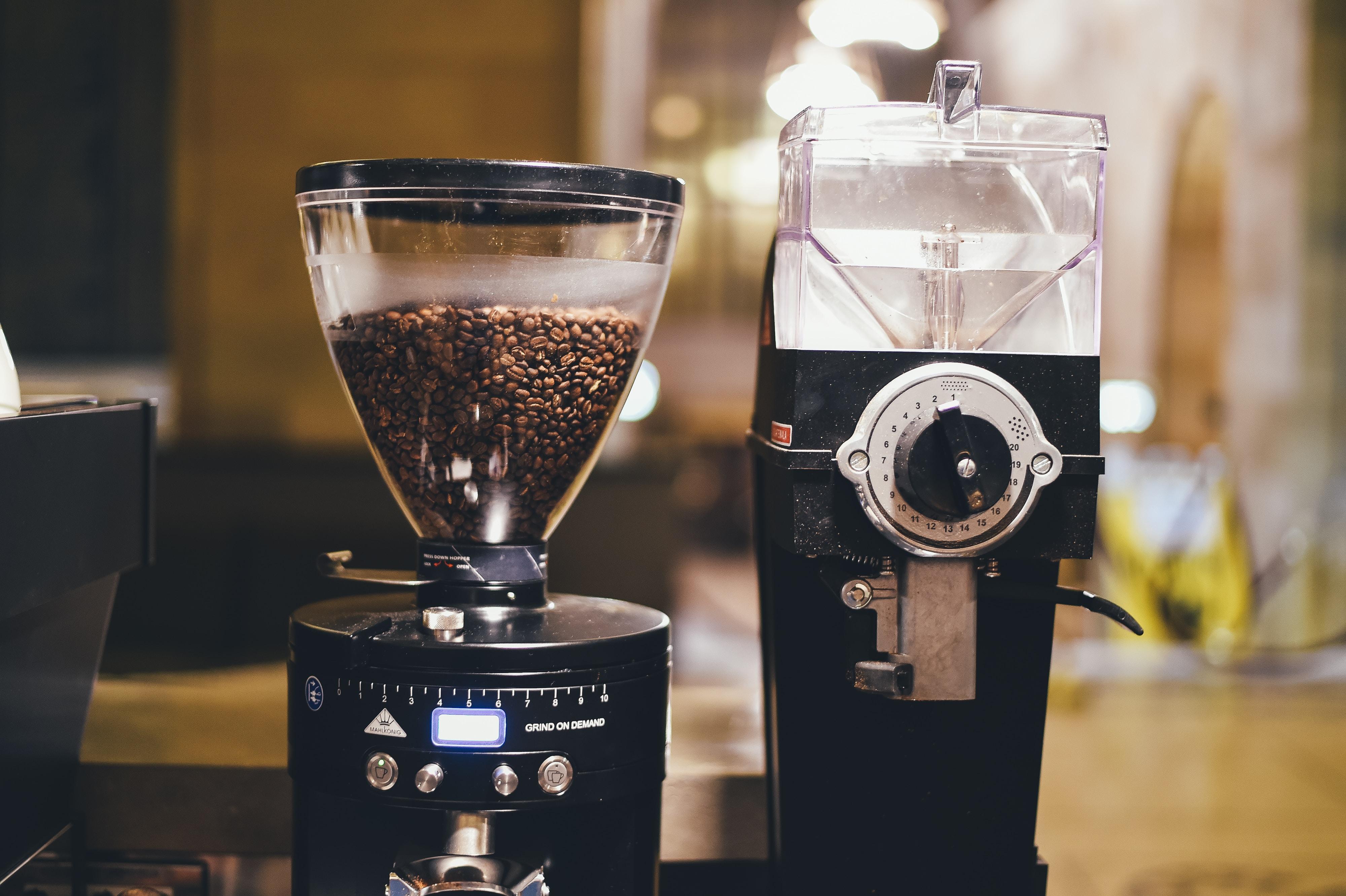 black coffee maker