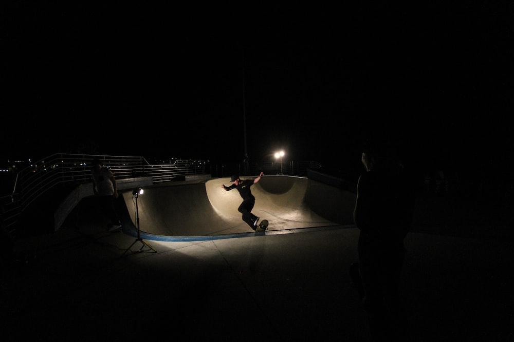 person using skateboard