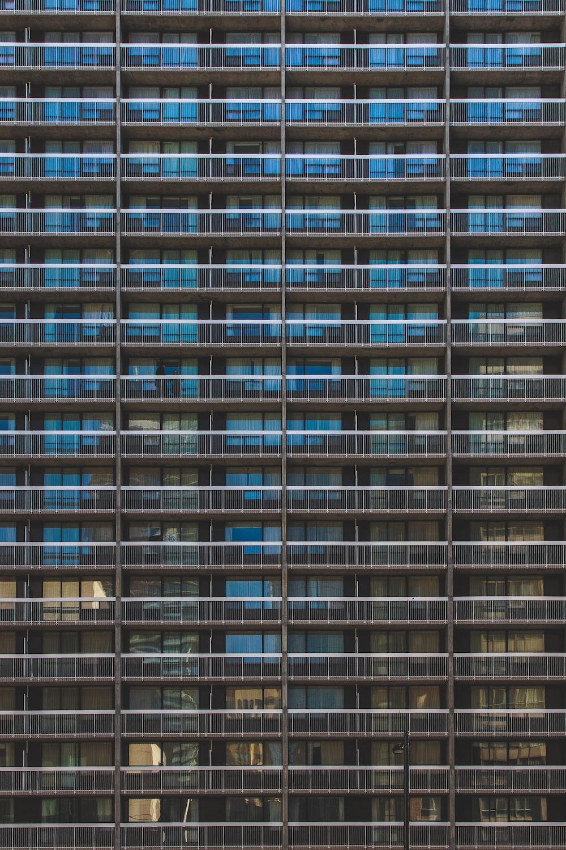 black concrete hotel