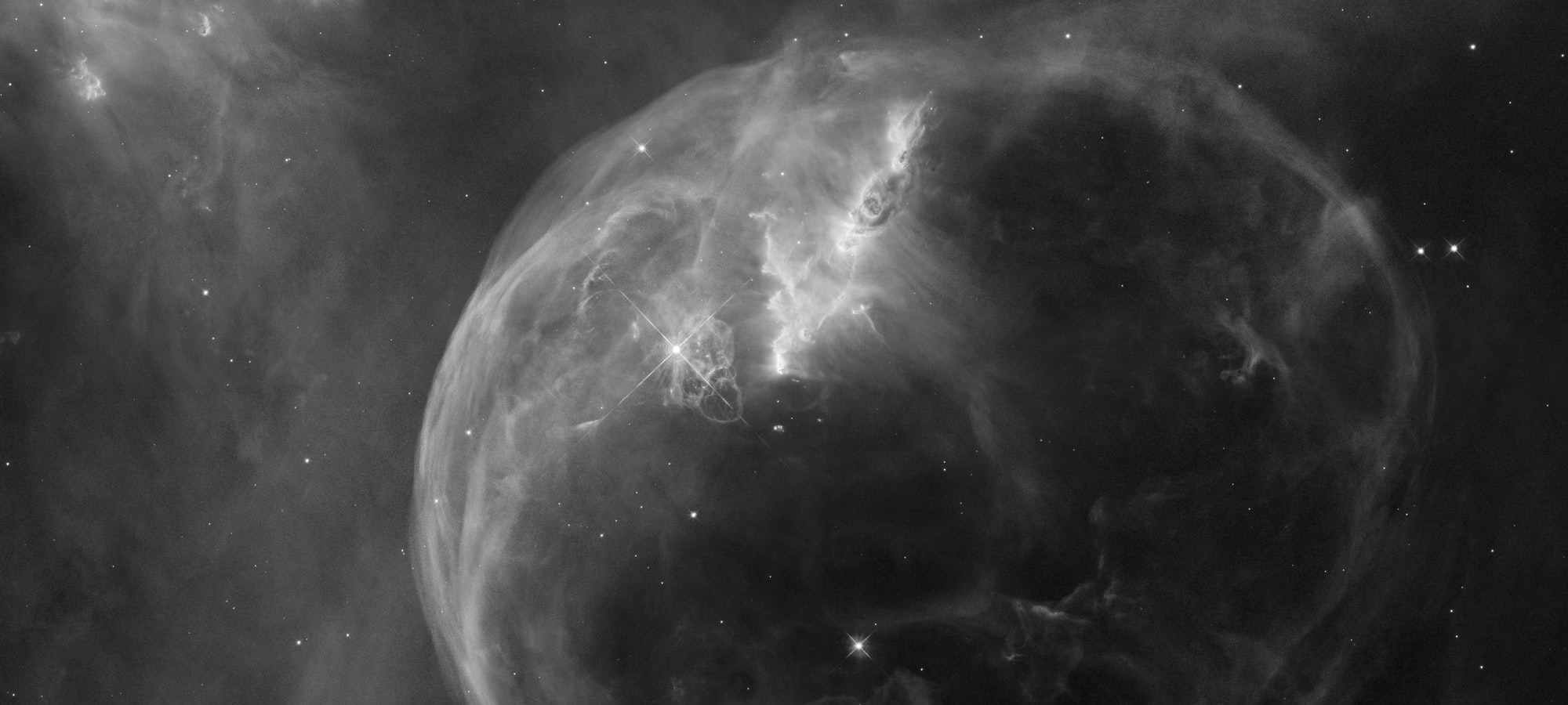 Bubble Nebula (NASA, ESA, and the Hubble Heritage Team (STScI/AURA)) | asencis