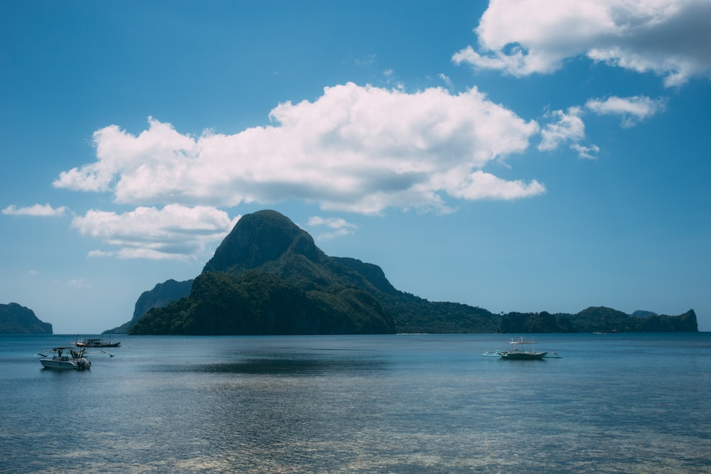 photography of island during daytime