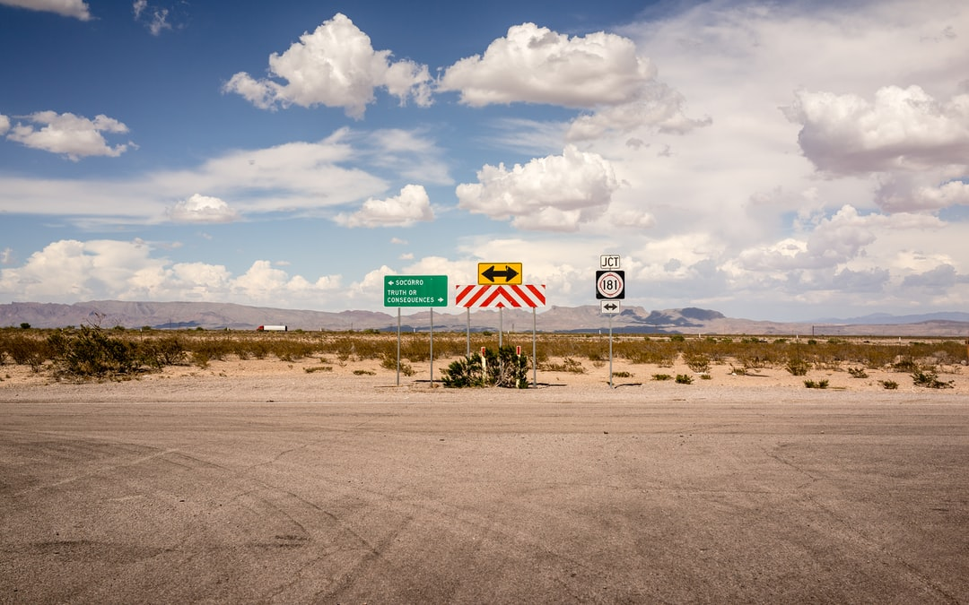 Taken at a cross roads in New Mexico, near Truth or Concequences