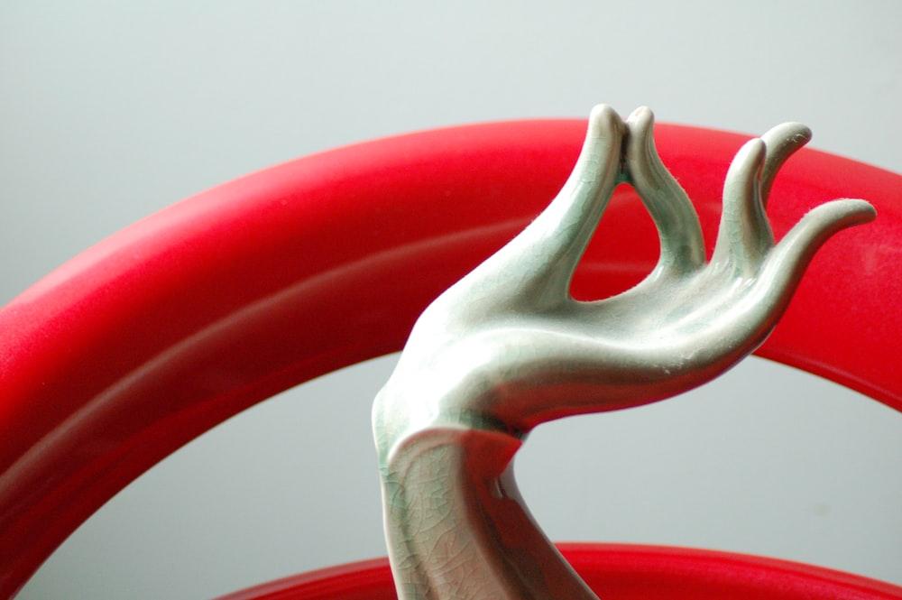 right human hand figurine