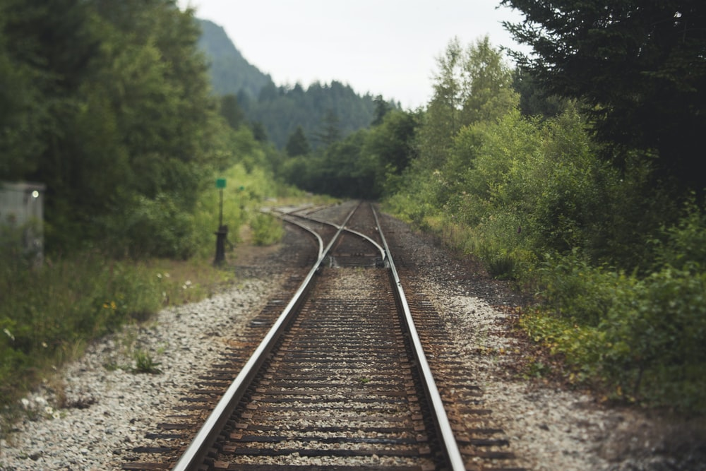 black and brown train railway 396251373