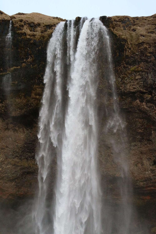 photo of waterfalls