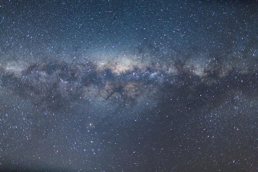starry night sky over starry night