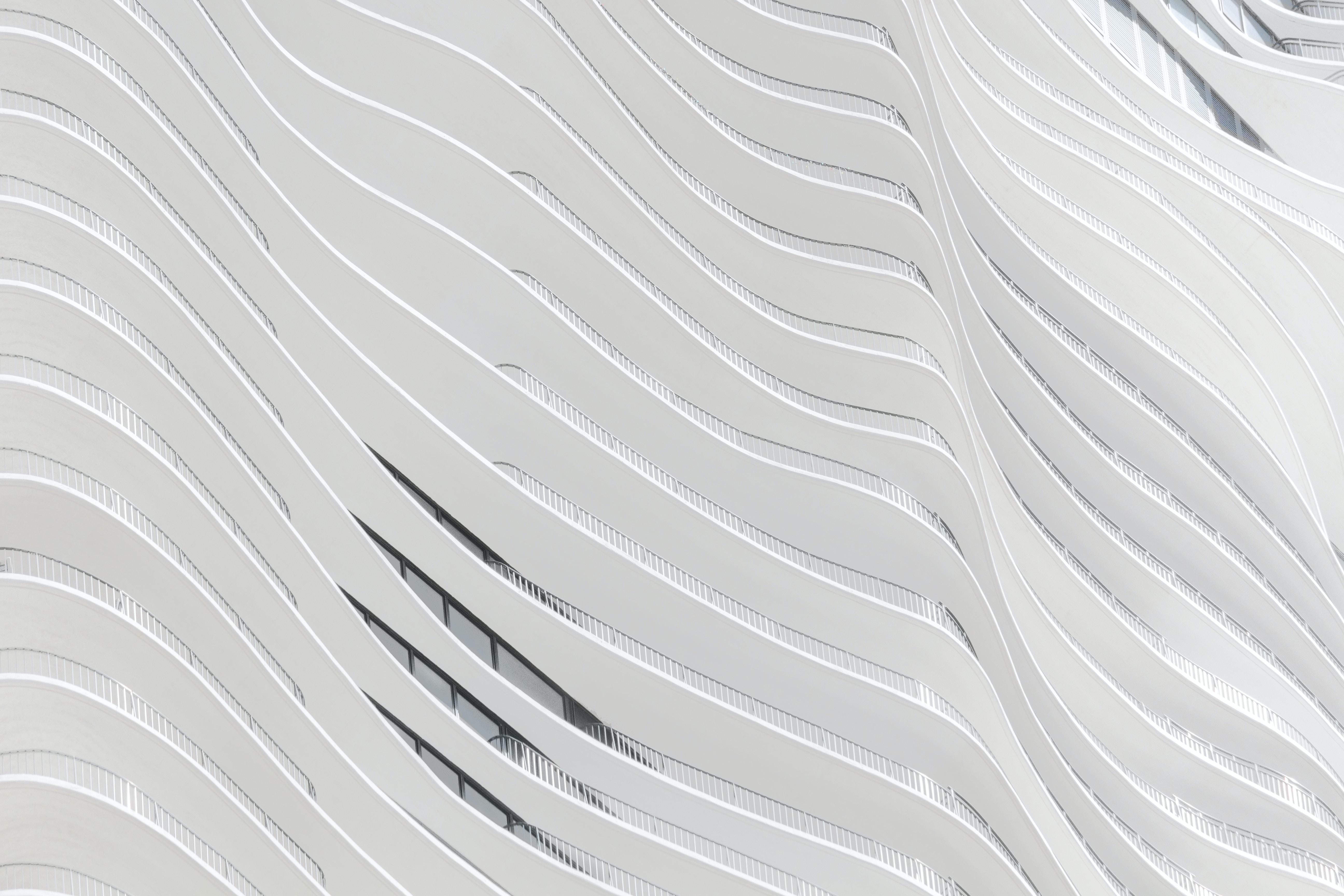 white concrete building wall