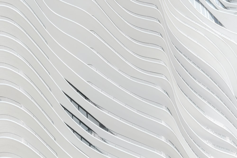 White Concrete Building Wall